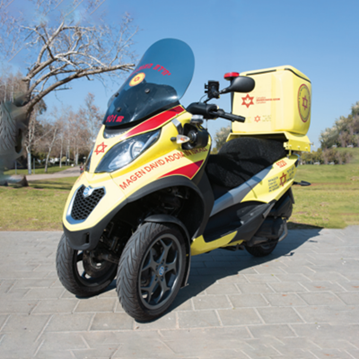 Canadian Magen David Adom Ambulance